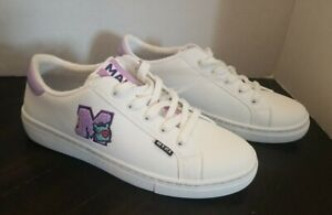 NEW BTS BT21 x SKECHERS Sneakers MANG Friend White Sz 8.5 Limited Edition