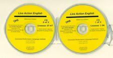 Live Action English Audio CD's (2) Kuizenga Romijn,  ESL