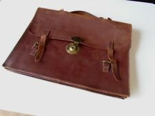 Leather Business Adult Unisex Vintage Bags, Handbags & Cases