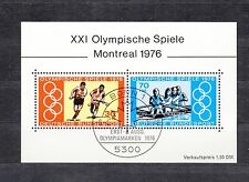 ALLEMAGNE Germany Bloc Feuillet Yvert N° 11 oblitéré luxe Jeux O. Montreal 1976