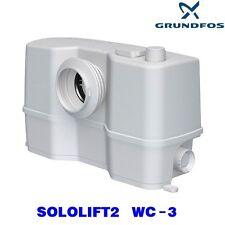 SISTEMA SOLOLIFT2  WC-3  GRUNDFOS (WC +TRE ATTACCHI SCARICO) ART. 97775315