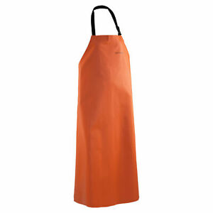 Grundens Clipper Commercial Fishing Apron 96 Orange 70019