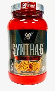 BSN Syntha 6 EDGE Protein 2.28 lbs, 28 Servings PEANUT BUTTER COOKIE - PICK QTY