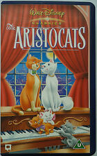 WALT DISNEY CLASSICS THE ARISTOCATS VHS VIDEO - Disney's 20th Animated Classic