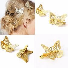 Damen Frauen Schmetterling Haarclip Haarspange Haarklammer Haarschmuck Schmuck