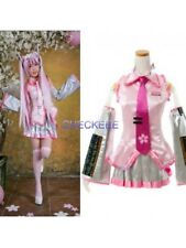 Hatsune Miku Sakura Lovely Cosplay Costume from VOCALOID