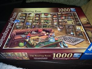Ravensburger 'The Reading Room' 1000 piece Jigsaw Puzzle