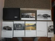 2015 Audi R8 Spyder owners manual with black case.