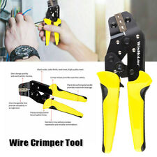 Crimping Tool Wire Crimper Plier Ratchet Terminal Non Insulated Cable Connectors