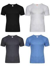 1 Mens Thermal Short Sleeve T-Shirt Vest Winter Ski Underwear / S M L XL XXL