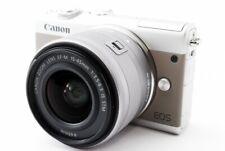 Canon EOS M100 24.2MP 15-45mm Lens Kit Gray [Excellent+++] w/Strap Japan [505]
