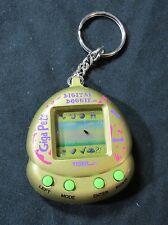 *RARE* Giga Pets Digital Doggie Gold Virtual Tamagotchi Game Tiger Electronics