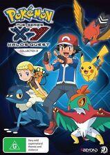 USED (VG) Pokemon - XY Kalos Quest - Season 18 Collection [DVD] (Region 4 Pal, N
