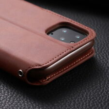 For iPhone 12 Mini 12 Pro Max 11 XS XR 8 7 Leather Wallet Flip Stand Case Cover