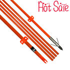 "Bowfishing Arrows For All Bows 32""Archery Fiberglass Shaft Fish Hunting  3X"