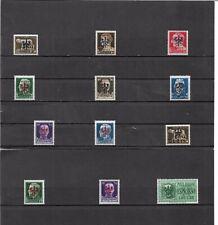 Laibach 1944, Einzelmarken zur Auswahl aus Mi-Nrn.: 1 - 20 **, postfrisch **