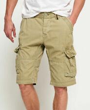 New Mens Superdry Mens Core Cargo Lite Shorts Blast Olive