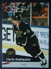 NHL 408 Chris Dahlquist Minnesota North Stars Pro Set 1991/92