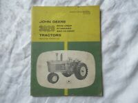 John Deere 3020 tractor operator's manual