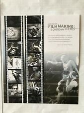 Us Stamps 37 Cent American Film Making Sheet Of Ten Mnh 2003 Sc# 3772