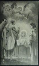 ESTAMPA HOLY CARD SANTA TERESITA DEL NIÑO JESUS SU PRIMERA COMUNION       CC1574