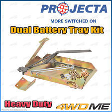 Nissan Patrol GU Y61 4WD PROJECTA Dual Battery Tray Auxiliary Complete Kit