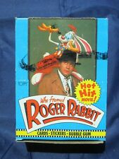 Who Framed Roger Rabbit Cards Stickers Bubble Gum