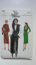 Vintage 7428 Very Easy Vogue Pattern, Size 12 New/Uncut