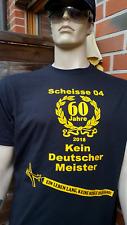 Dortmund Fan Shirt,Ultras Anti GE, 60 Jahre keine Schale, meisterschaftsfrei