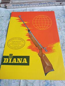 Diana Luftgewehr Luftpistole Daten Werte Waffen Anleitung 31