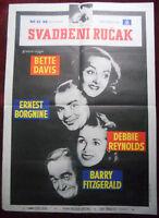 1956 Original Movie Poster Catered Affair R. Brooks Bette Davis Ernest Borgnine