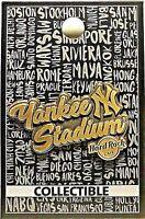 Hard Rock Cafe Yankee Stadium Core Destination Series Pin 2017 New LE # 95910
