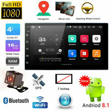 "7 "" 2-Din Android 8.1 Car MP5 Player Pantalla táctil Radio estereo GPS WIFI"