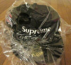 Supreme No Comp Box Logo New Era Hat Cap Size 7 1/2 Black FW21 Supreme New York