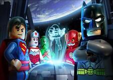 Lego batman A4 poster wall art