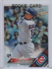 KYLE SCHWARBER Topps Chrome REFRACTOR ROOKIE CARD Chicago Cubs 2016 RC Baseball
