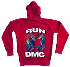 Amplified RUN DMC 83 discothèque HIP HOP RAP culte capuche pull VIP veste hoodie