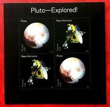 2016 US Stamp SC#5077-5078A Pluto Explored