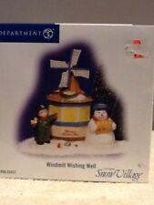 Dept 56 Original Snow Village - Windmill Wishing Well - #55431 - EUC