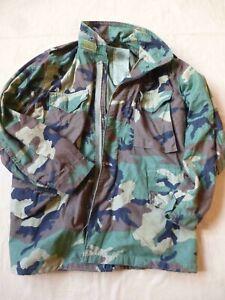 Veste Field Jacket US M65 camouflée Woodland réglementaire US Army Gi's 1984