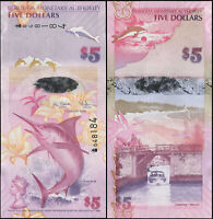 BERMUDA BANKNOTE 5 DOLLARS - P.58a 01.01.2009 UNC