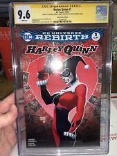Harley Quinn #1 10/16, CGC 9.6, Sig Series Signed By Amanda Conner & J Palmiotti
