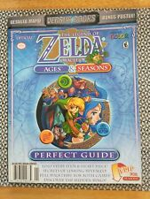 Zelda Oracle Ages & Seasons Perfect Strategy Guide gameboy color poster map