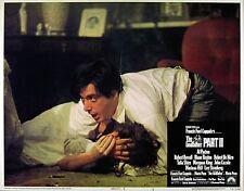 GODFATHER PART II 1974 AL PACINO LOBBY CARD #3 Francis Ford Coppola  MARIO PUZO