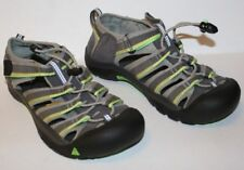 "Pre-Worn Youth Big Kids KEEN Gray Racer ""Newport H2"" Sandals sz 4, EUR 36, UK 3"