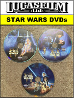 🎬 Star Wars Dvds Set: A New Hope Empire Strikes Back Return of the Jedi ⭐⭐⭐⭐⭐
