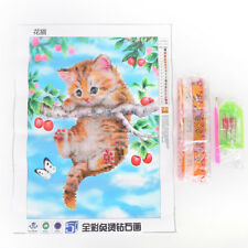 5D Diamond Painting Pattern Cute Cat Punto croce Home Decor '