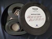 2 Bobine de cinéma, bande annonce du film: GHOST RIDER de 2007 Avec Nicolas Cage