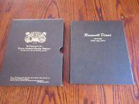 1946-2020 Roosevelt Dime Dansco Coin Album BU & Proofs + P&D Total of 241 coins
