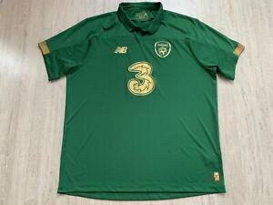 2019 20 Home Irland Fußball Trikot Ireland Football Shirt Jersey New Balance XXL